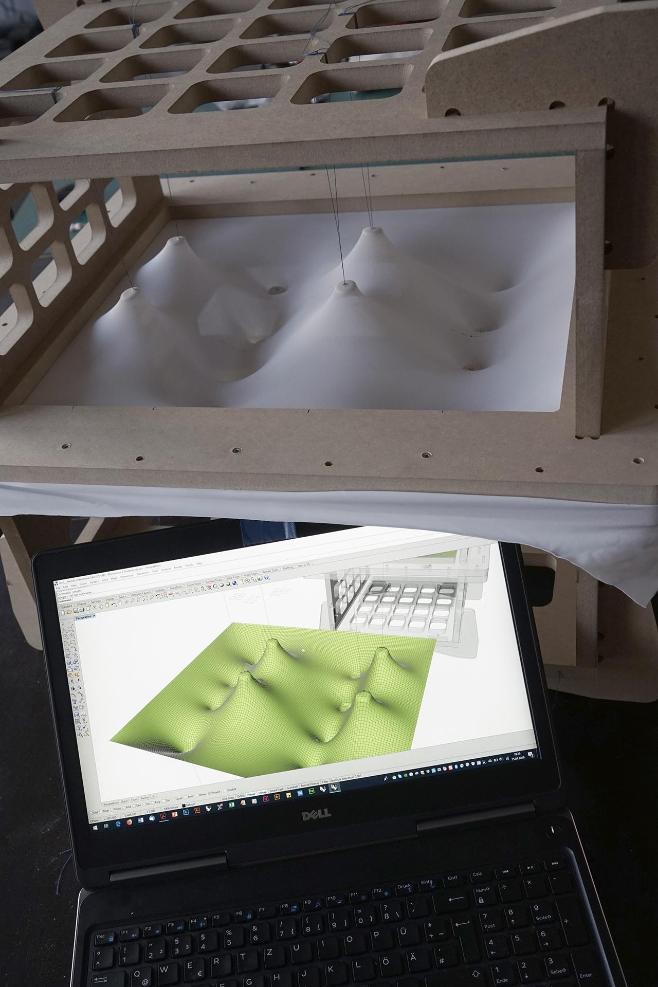 Versuchsaufbau digital und analog